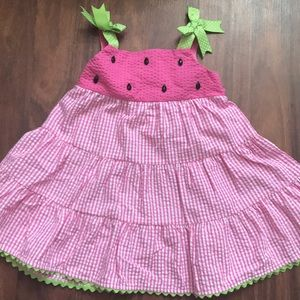 Watermelon dress 2 T